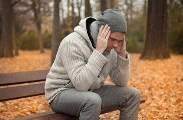 mann mit depressionen