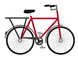 Printed roller blinds Bicycle red bicycle