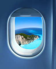 Approaching holiday destination
