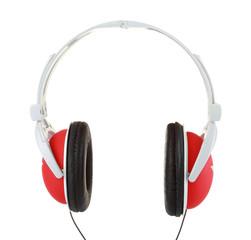 Close up of headphones