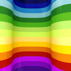 3d rainbow abstract colorful background