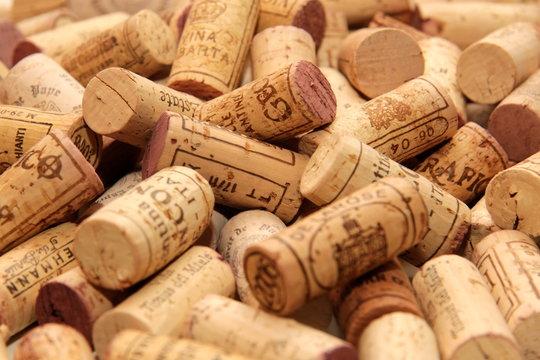 Wein Korken Weinkorken