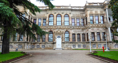 The Dplmabahce Palace in Istanbul
