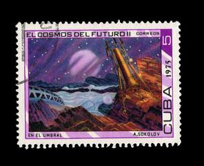 CUBA, A.Sokolov  EL Cosmos Del Futuroll,  circa 1975