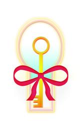 gift  keyhole