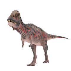 red majungasaurus side view