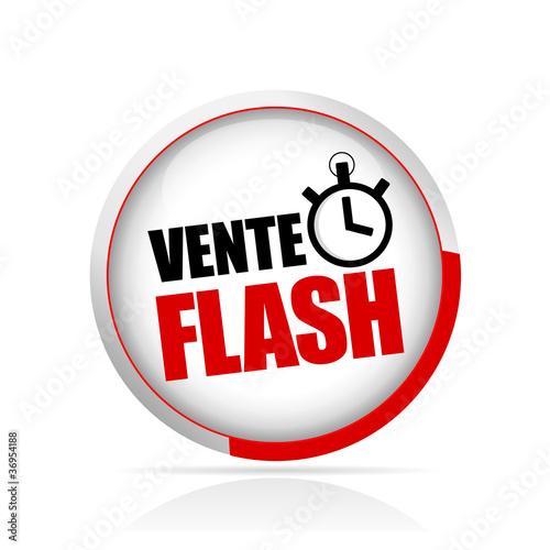 Bouton vente flash fichier vectoriel libre de droits sur la banqu - Marmara ventes flash ...