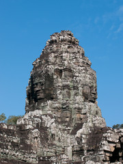Bayon temple, Siem Reap in Cambodia