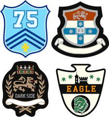 police emblem badge