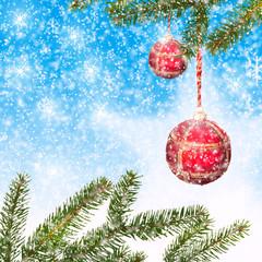 Bilder und videos suchen weihnachtszweige for Weihnachtlicher hintergrund