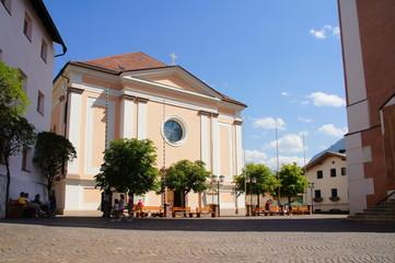 Kirche in Kastelruth in Südtirol