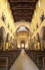 Milan - nave of Saint Augustin - San Agostino - church