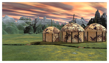 3D - Yurts