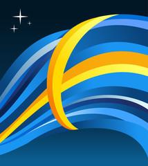 Sweden flag illustration