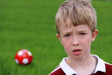 Fußball ist nicht immer leicht