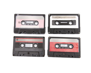 Audio tapes isolated