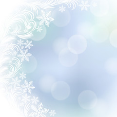 Vector background on the Christmas theme