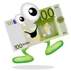 euro in salita