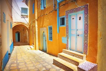 Fotobehang Tunesië Arabian street