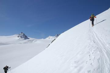 sci alpinismo ghiacciai Obergurgl Osterreich