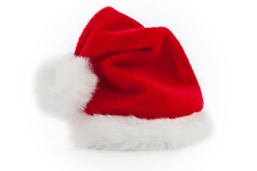 Nikolausmütze freigestellt