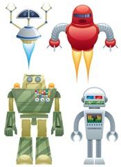 Spoed Foto op Canvas Robots Robots