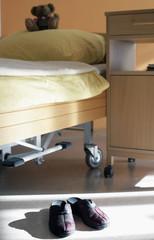 Hauschuhe im Pflegeheim