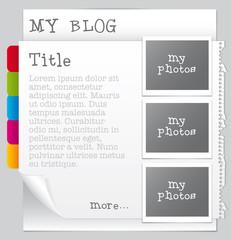 Website/glog template