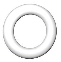 Frame blank round