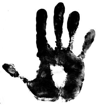 empreinte de main