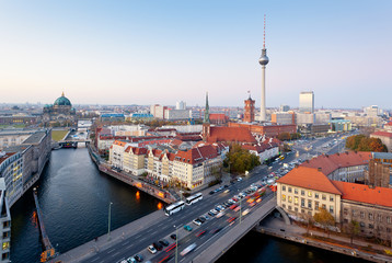 Berlin view from Fischerinsel