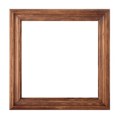 Wooden frame for pictures.