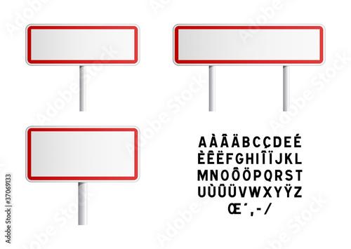 panneaux ville vierge fichier vectoriel libre de droits sur la banque d 39 images. Black Bedroom Furniture Sets. Home Design Ideas