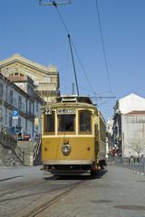 Carmo tram at Porto, Portugal