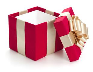 Open gift box.