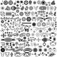 Giant Collection of Unique Vector Design Elements