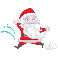 Santa with christmas