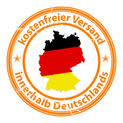 kostenfreier versand innerhalb deutschlands