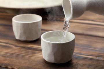 日本酒、熱燗