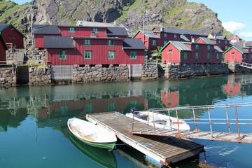 Stamsund's old harbour