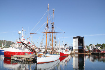 Shipyard and vessels of Lofoten