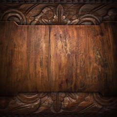 vintage wood board