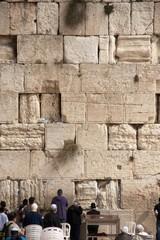 Praying near western wall