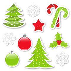 Christmas design elements collection