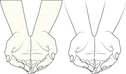 Fototapeta hands