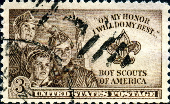 Boy Scouts of America. United States Postage.
