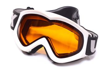 image of skiing mask isolated on white background
