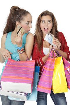 Shopping et argent