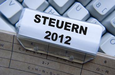 Steuern 2012