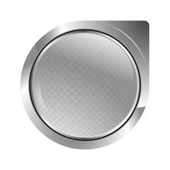 bouton icone métal